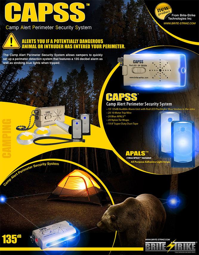 Système de protection de périmètre CAPSS3